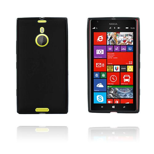 GelCase (Svart) Nokia Lumia 1520 Skal