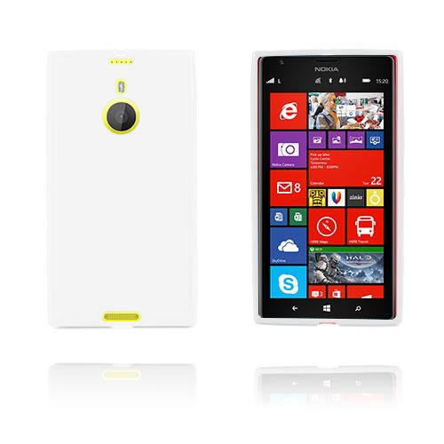 GelCase (Vit) Nokia Lumia 1520 Skal