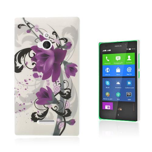 Valentine (Lila Blommor) Nokia XL Skal
