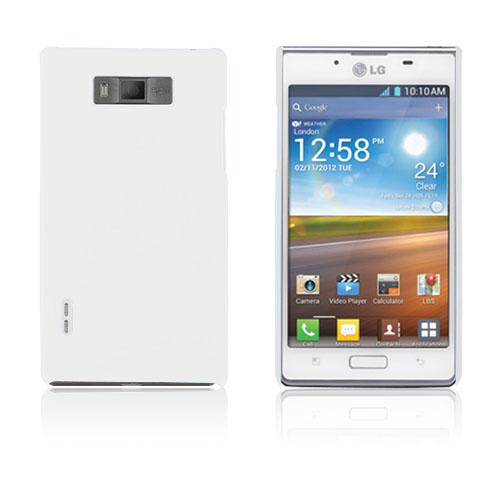 Hårdskal (Vit) LG Optimus L7 P700 Skal