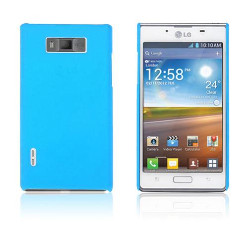Hårdskal (Ljusblå) LG Optimus L7 P700 Skal
