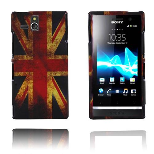 Retro Flag (UK) Sony Xperia U Skal