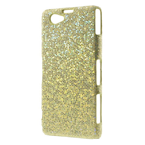 Glitter (Guld) Sony Xperia Z1 Compact Skal