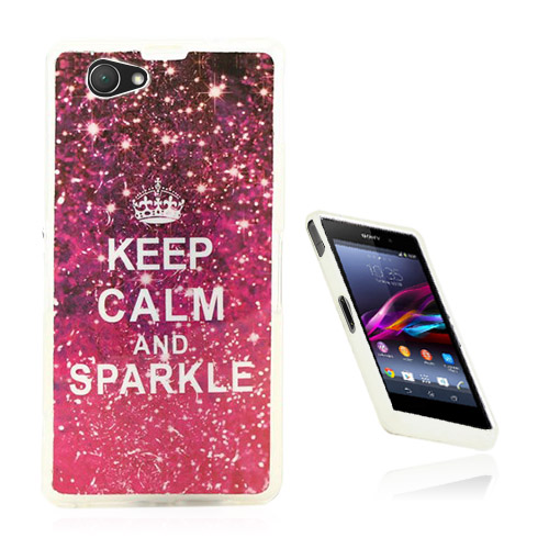 Westergaard Sony Xperia Z1 Compact Skal – Shock Rosa Var Lung & Glittra