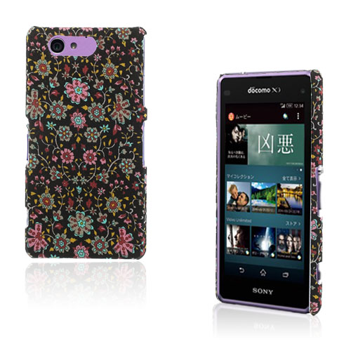 Cloth (Blommig) Sony Xperia Z2 Compact Skal