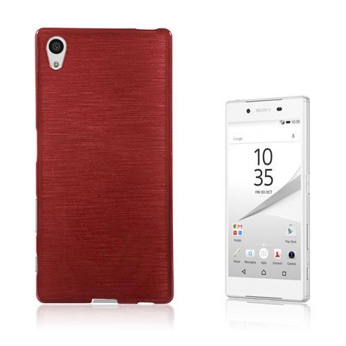 Bremer Sony Xperia Z5 Skal – Röd