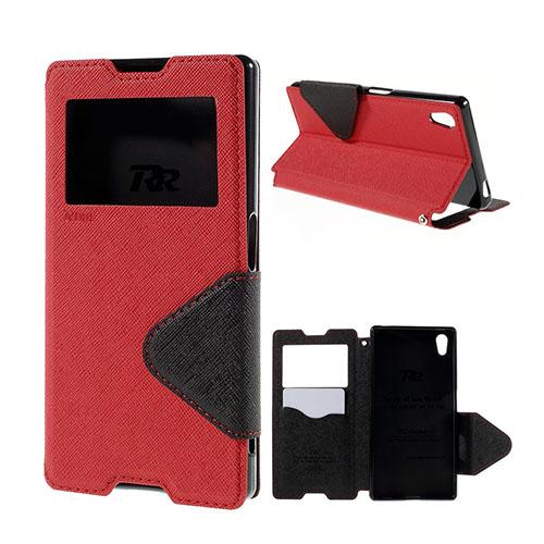 ROAR KOREA Sony Xperia Z5 Fodral med Smartview – Röd