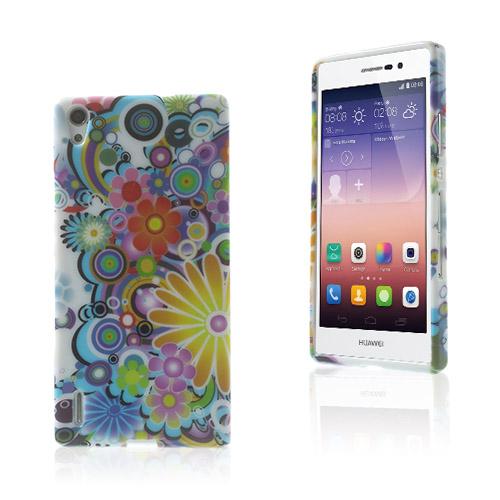Westergaard (Färgfulla Blommor) Huawei Ascend P7 Skal