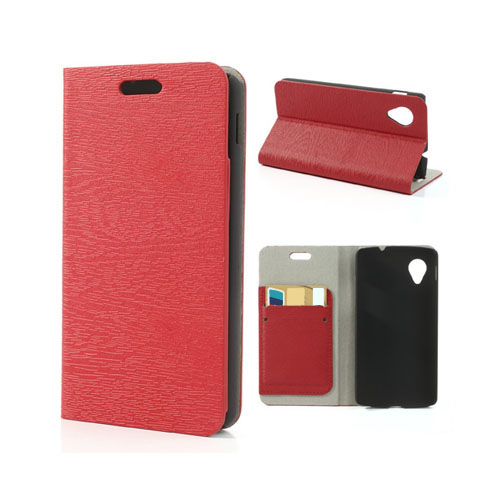 Larsson (Röd) Google Nexus 5 Flip-Fodral
