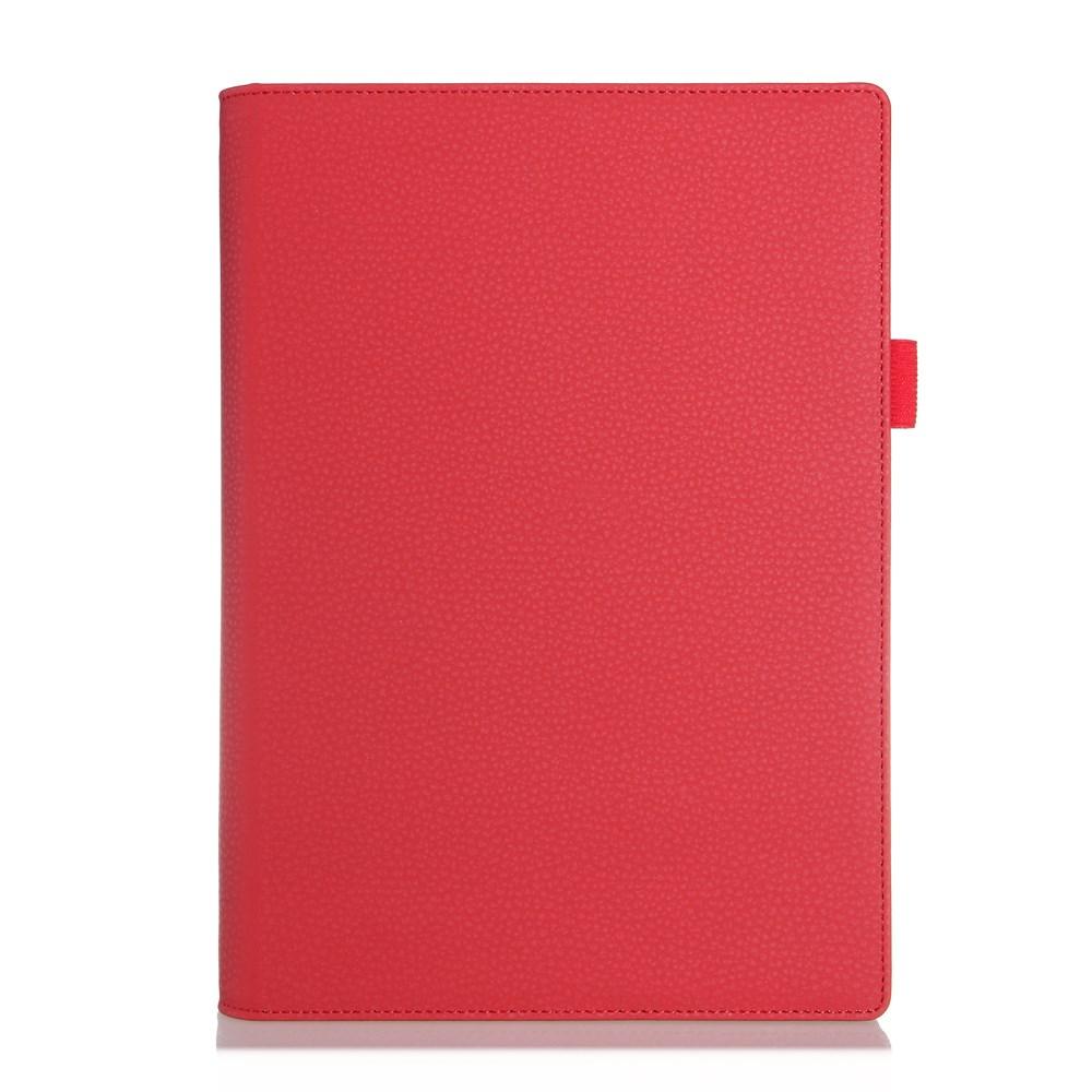Bernhoft Lenovo Yoga Tablet 2 10.1 Läder Flip Fodral – Röd