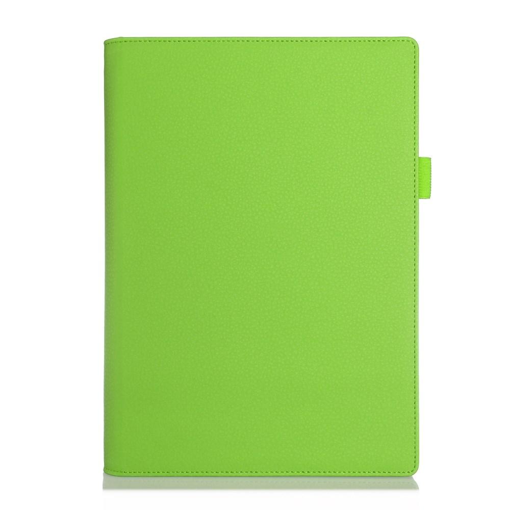 Bernhoft Lenovo Yoga Tablet 2 10.1 Läder Flip Fodral – Grön