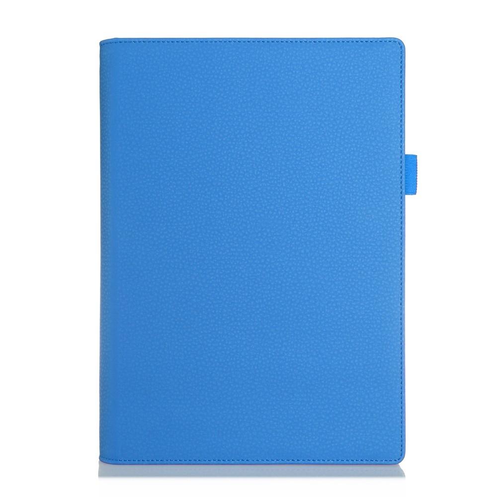 Bernhoft Lenovo Yoga Tablet 2 10.1 Läder Flip Fodral – Blå