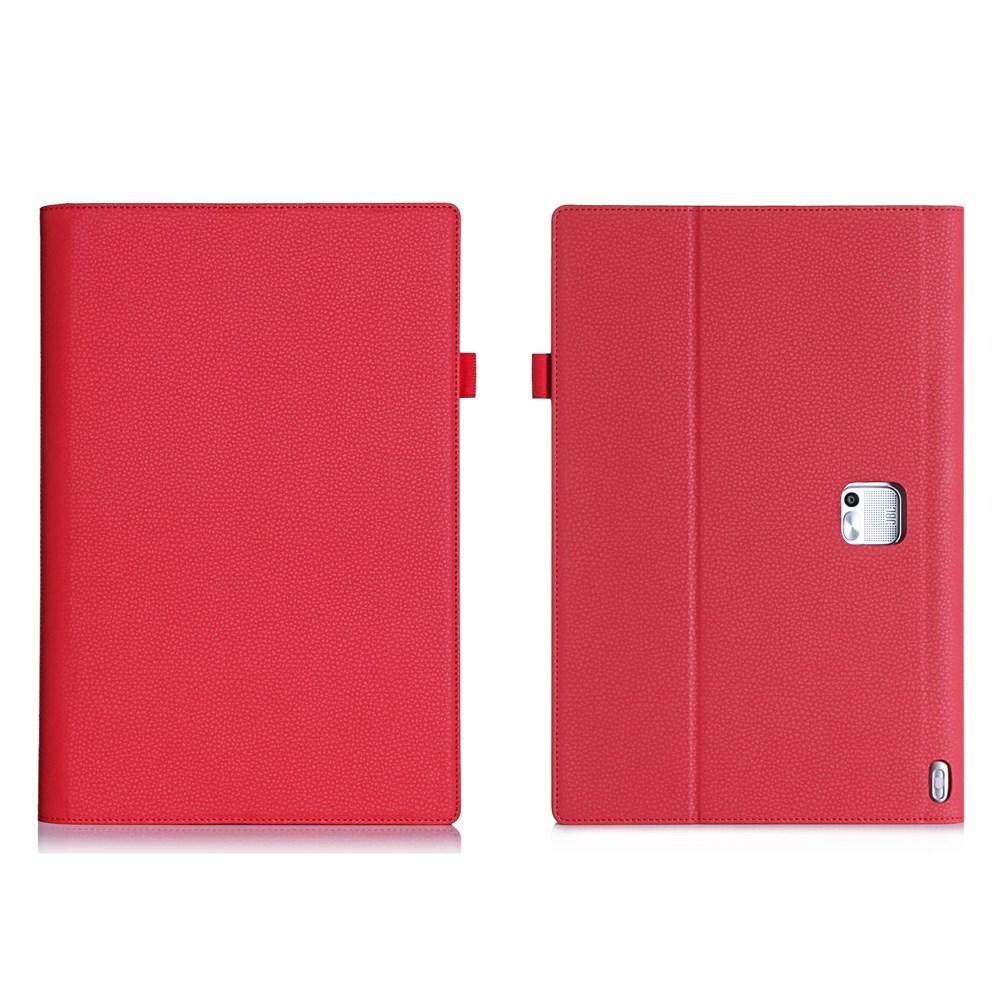Bernhoft (Röd) Lenovo Yoga Tablet 2 Pro 13.3 PU Fodral
