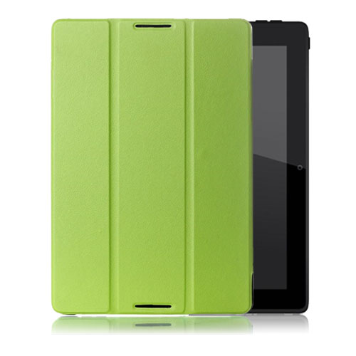 Gaarder Lenovo IdeaTab A10-70 Läderfodral med Stativ – Grön
