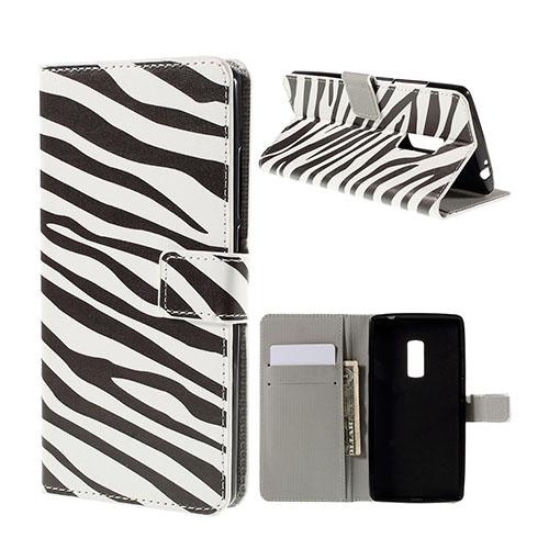 Moberg Oneplus 2 Fodral – Zebra