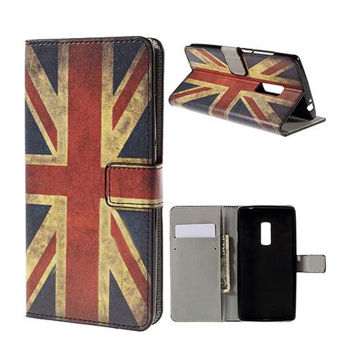 Moberg Oneplus 2 Fodral – UK Flagga
