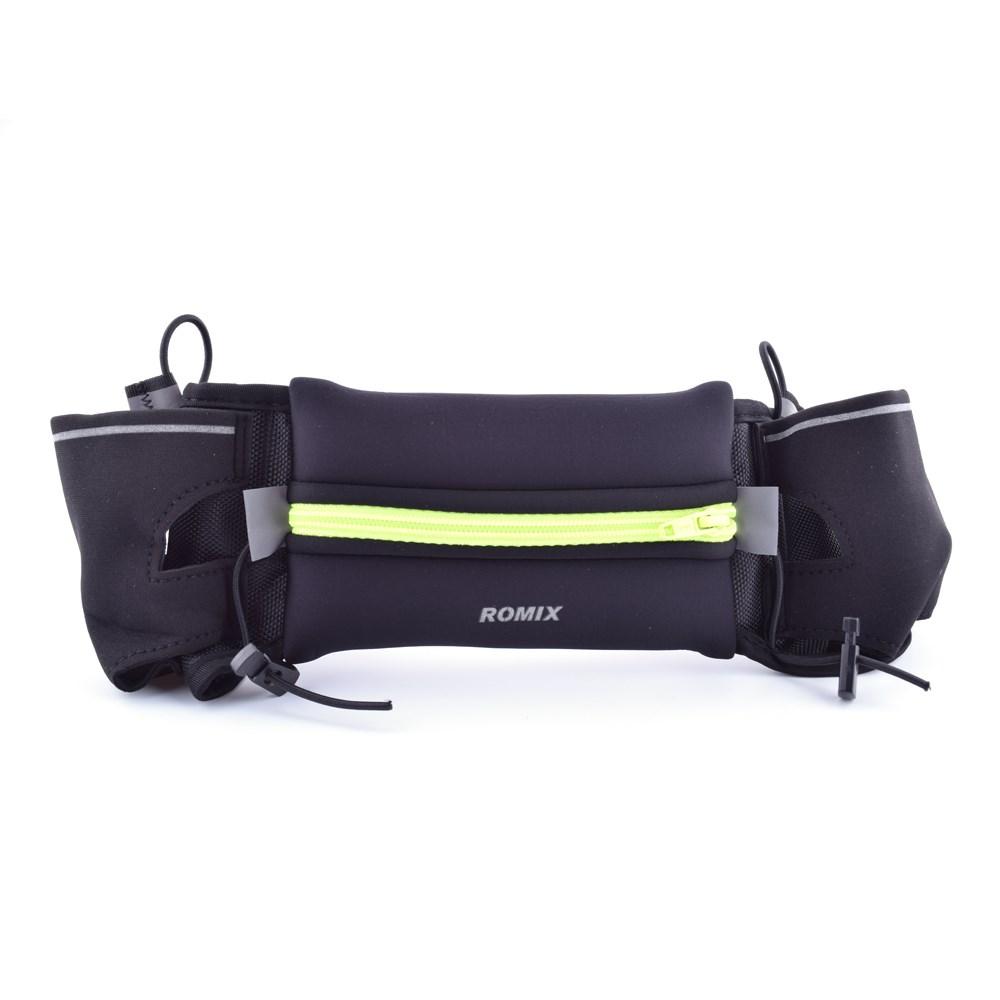 ROMIX Sport Bältesväska med hållare till vattenflaska Storlek: 18cm(L) x 10cm(W).
