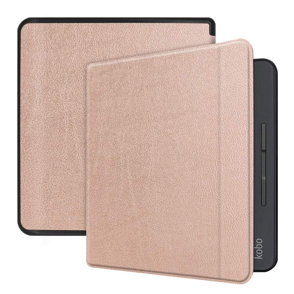 Kobo Forma leather case - Rose Gold