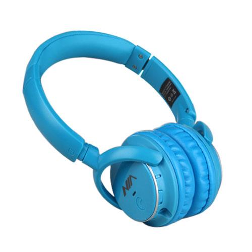 NIA Q1 Bluetooth Hörlurar – Blå