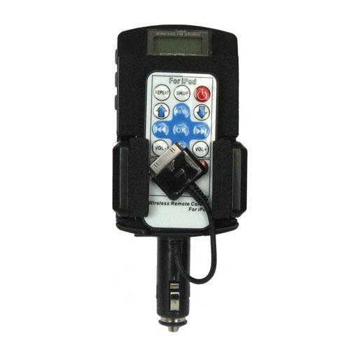 7-i-1 – FM-sändare för iPhone 3G / 3GS / 4 (Svart) Med fjärrkontroll