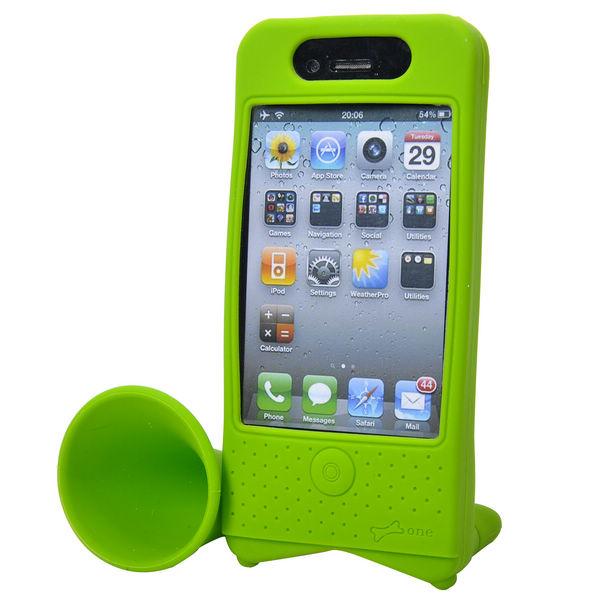 iPhone 4 (Grön) Bike Horn – Cykelhållare