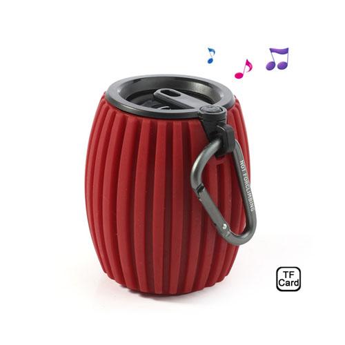 Hand Grenade (Röd) Trådlös Bluetooth-Högtalare med Mikrofon
