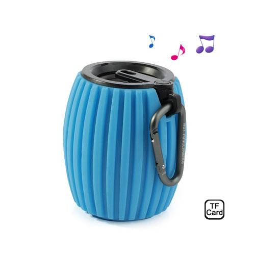 Hand Grenade (Blå) Trådlös Bluetooth-Högtalare med Mikrofon