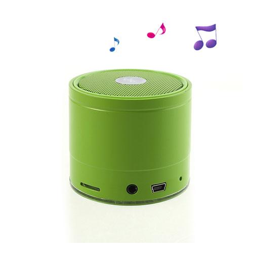 EWA A108 (Grön) Trådlös Bluetooth-Högtalare