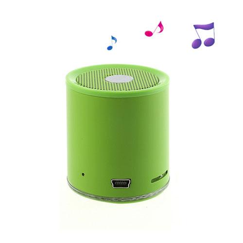 EWA A106 (Grön) Trådlös Bluetooth-Högtalare med Mikrofon