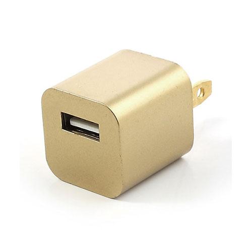 USB Väggladdare (Guld)