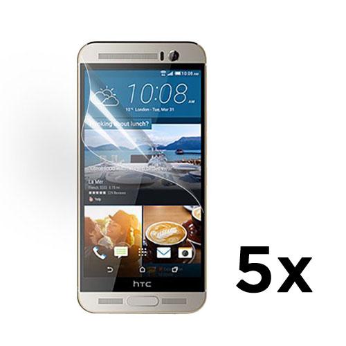 Displayskydd till HTC One M9 Plus – 5 st.