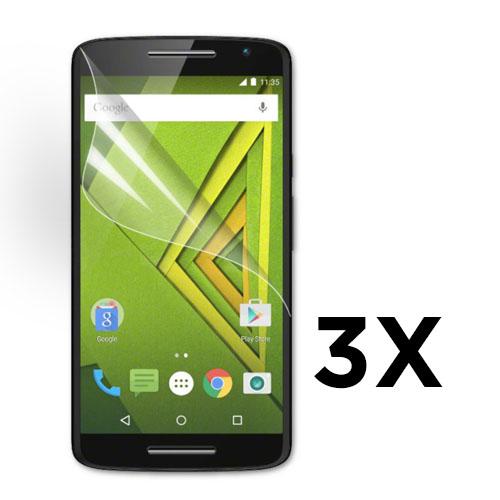 Displayskydd till Motorola Moto X Play. 3 st.