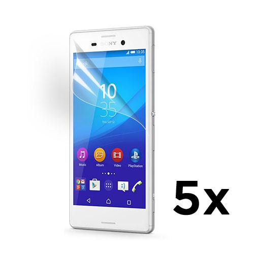 Displayskydd till Sony Xperia M4 Aqua – 5 st.