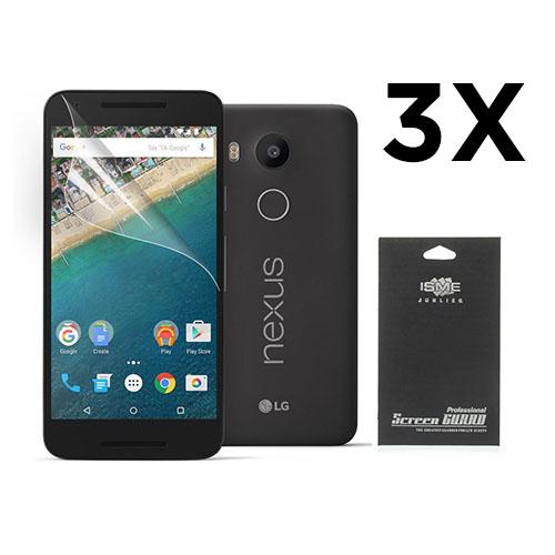 Displayskydd till Google Nexus 5X. 3 st.