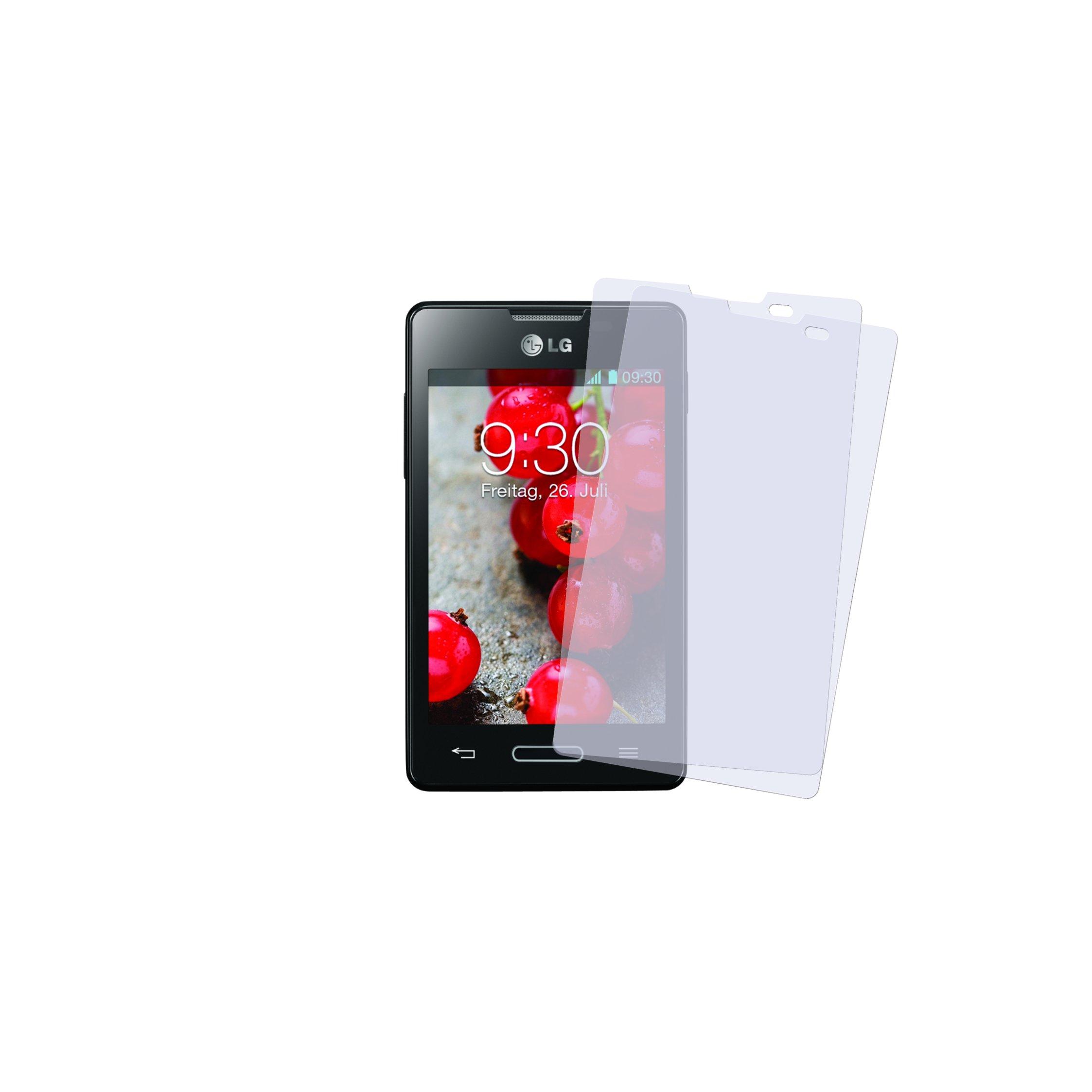 LG Optimus L4 II Displayskydd (Klar)