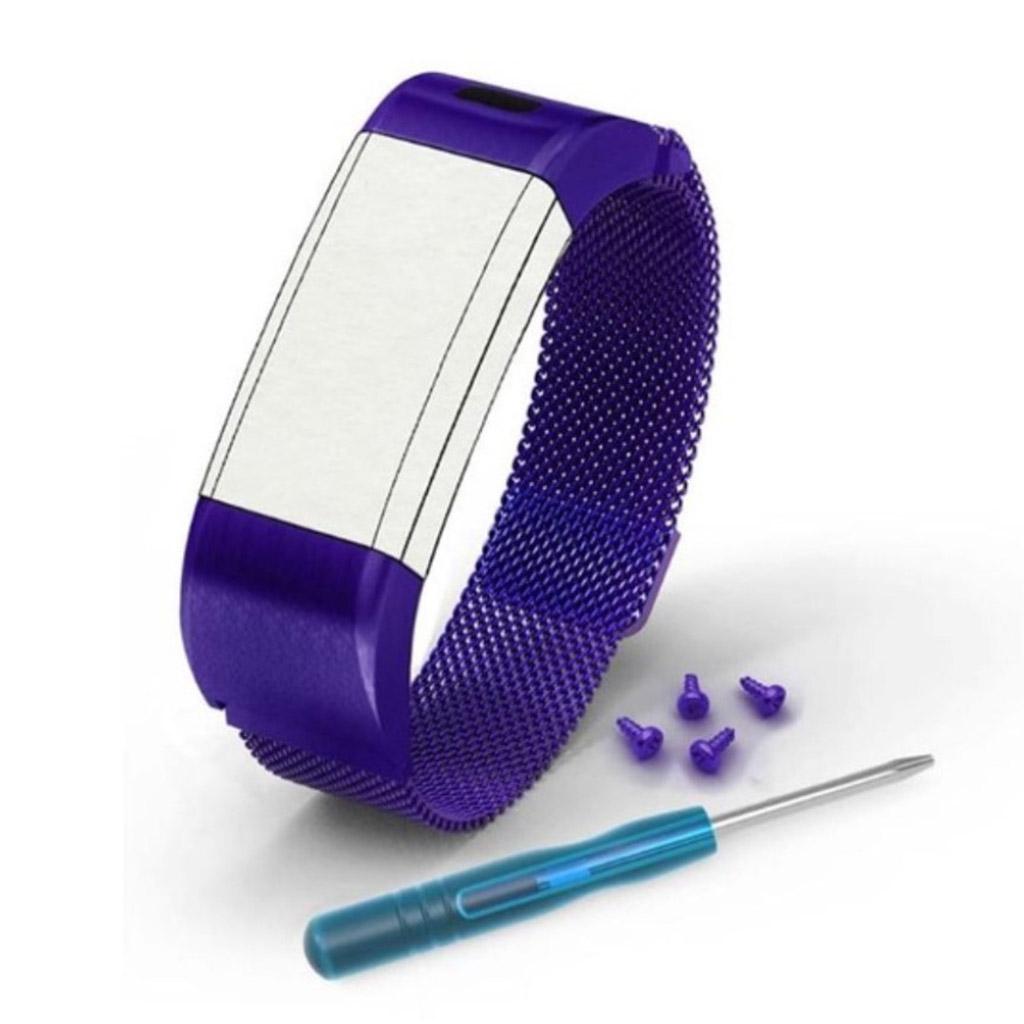 Garmin Vivosmart HR+ 17cm stainless steel watchband - Purple