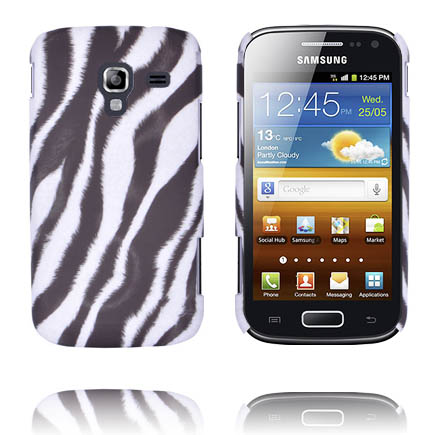 Zebra (Diagonal) Samsung Galaxy Ace 2 Skal