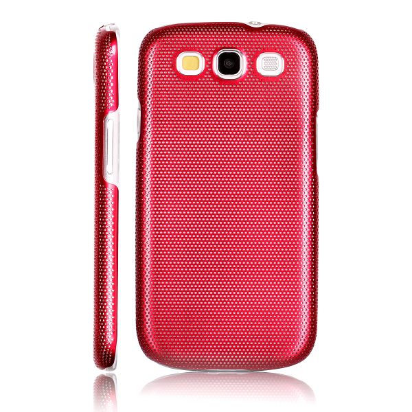 Supra Alu Skal (Röd) Samsung Galaxy S3 Aluminium Skal