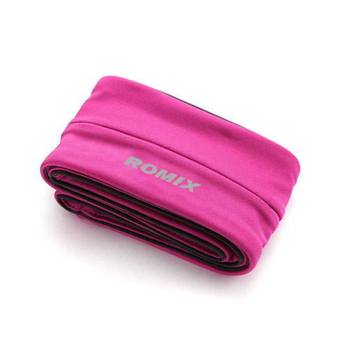 Lux-Case ROMIX Sport Bältesväska till 4,7-5,5 Smartphones, Storlek: S - Varm Rosa