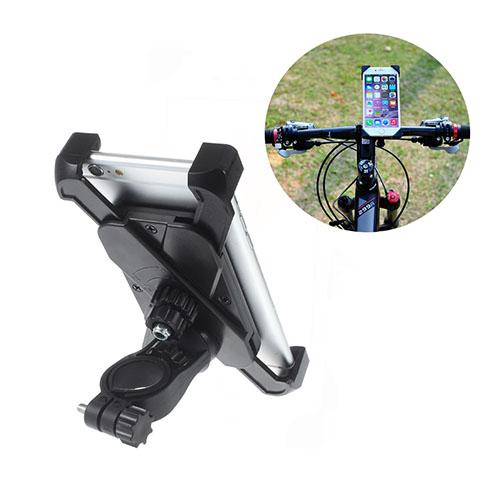 Lux-Case Universal Cykelstyre Hållare Fäste för iPhone 6s Plus/Samsung Galaxy S6 (CH-01-A) - Svart